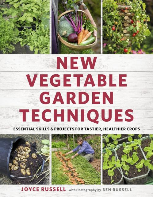 New Vegetable Garden Techniques Essential skills and projects for tastier, healthi...