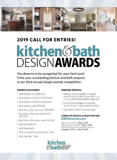 Kitchen amp Bath Design News - April (2019)