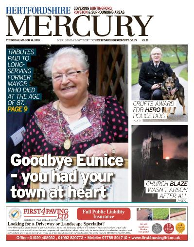Hertfordshire Mercury Buntingford and Royston - March 14, (2019)