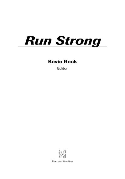Run Strong Add Muscle, Refine Technique, Increase Efficiency