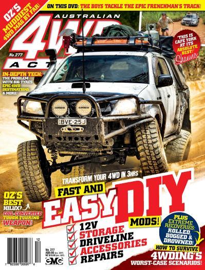 Auralian 4WD Action November (2017)