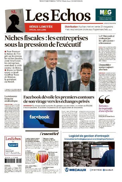 Les Echos - 02 05 (2019)