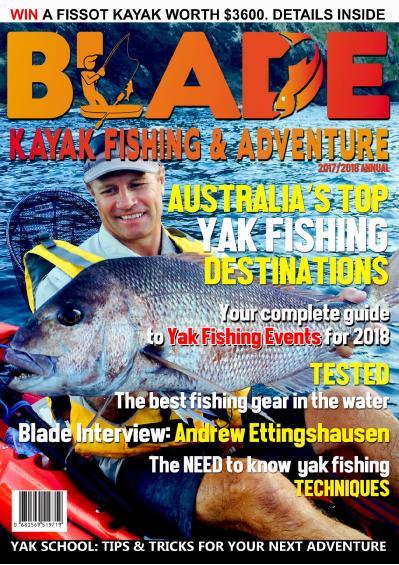 BLADE Kayak Fishing amp amp Adventure  December (2017)