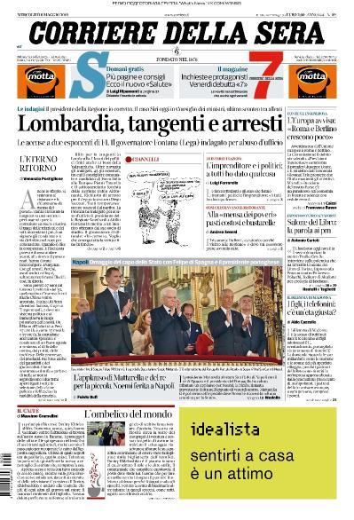 Corriere della Sera - 08 05 (2019)