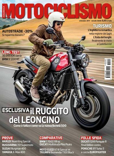 Motociclismo Italia N 2748  Settembre (2017)