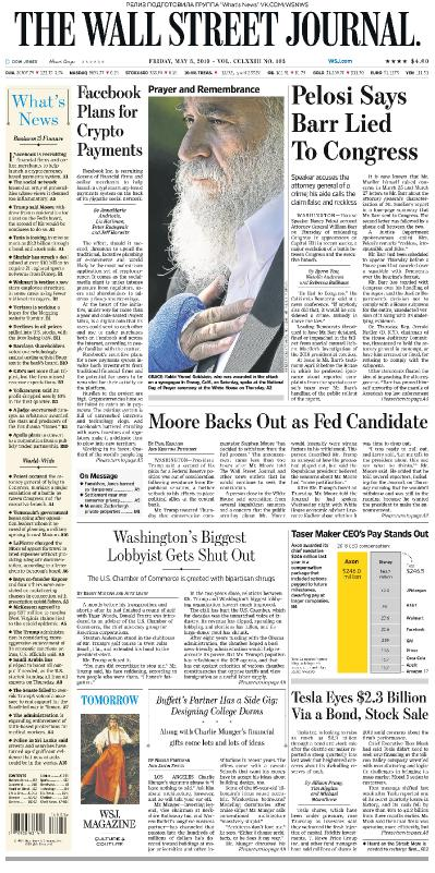 The Wall Street Journal - 03 05 (2019)