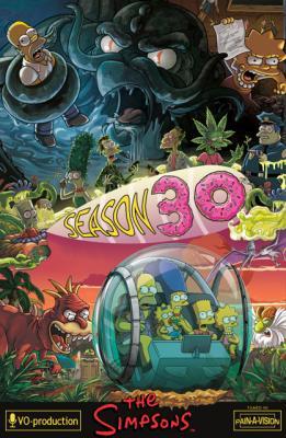 Симпсоны / The Simpsons [Сезон: 30] (2018) WEBRip 1080p
