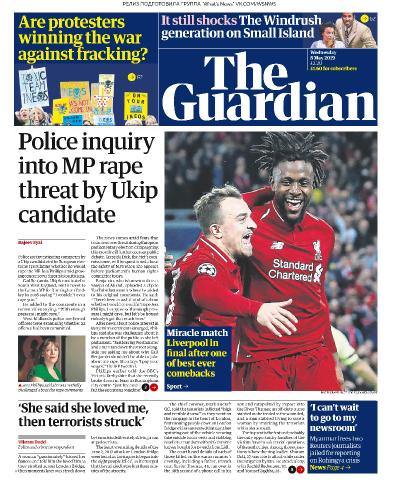 The Guardian - 08 05 (2019)