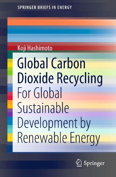 Global Carbon Dioxide Recycling For Global Suainable Development by Renewable Energy