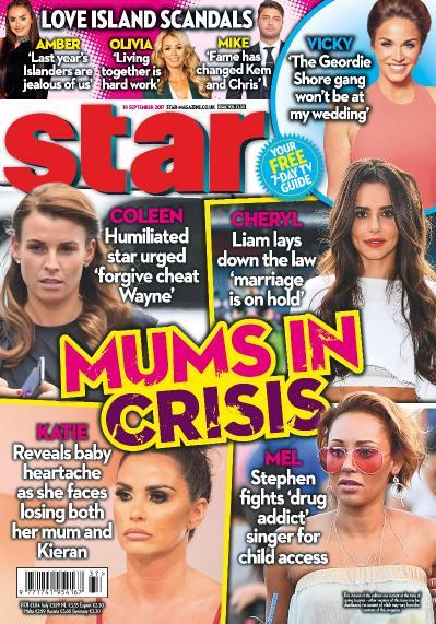 Star Magazine UK  18 September (2017)