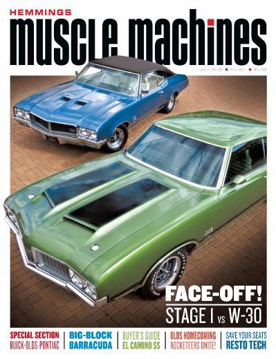 Hemmings Muscle Machines - July (2019)