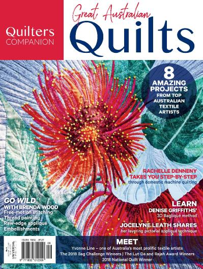 Quilters Companion December (2018)
