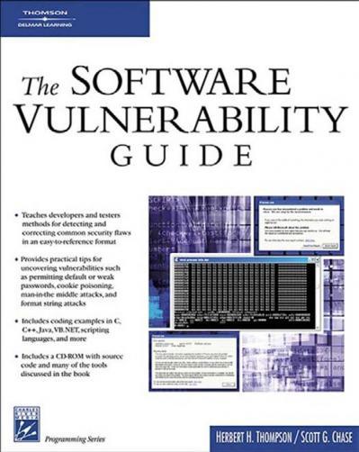 st (Programming Series) Herbert Thompson  Scott Chase - The software vulnerabilit...
