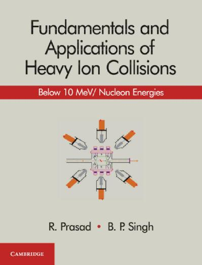 Fundamentals and Applications of Heavy Ion Collisions  Below 10 Mev  Nucleon Ener...